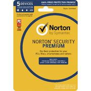 Buy Norton Security Premium 5 Devices for 1 Year