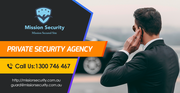 Private Security Agency Australia - MissionSecurity