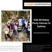 Kids Birthday Party Venues In Sydney - Laser Warriors