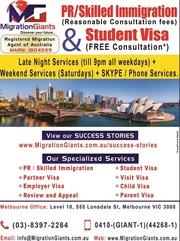 Australia PR/Skilled Immigration & Student Visa Services.