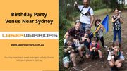 Birthday Ideas for Boys in Sydney - www.laserwarriors.com.au